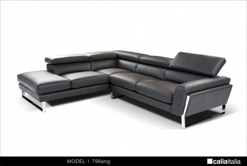 Vig Furniture Modern Black Italian Leather Sectional Sofa Vgca798ang Modern Sofa Sectional Leather Couch Sectional