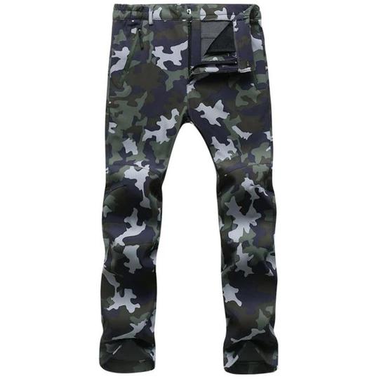 Men/'s Thick Fleece Thermal Trousers Tactical Waterproof Combat Work Pants NEW