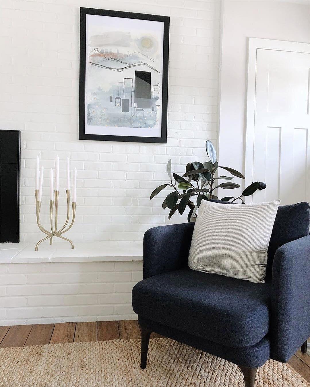 West Elm On Instagram Convenience Meet Comfort The Auburn Chair Is A Fan Favorite For Its E Side Chairs Living Room West Elm Living Room West Elm Furniture #west #elm #living #room #chairs