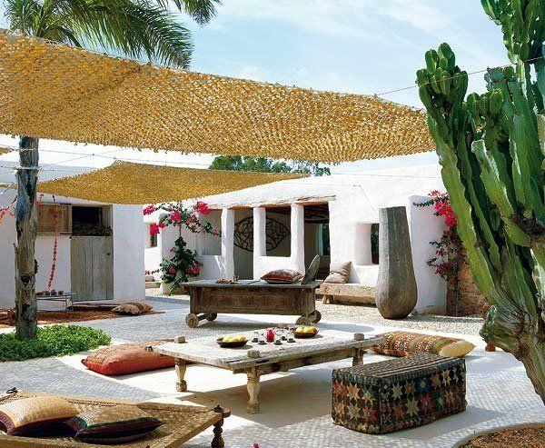 Terrazas y jardines para disfrutar Patios and Interiors - sombras para patios