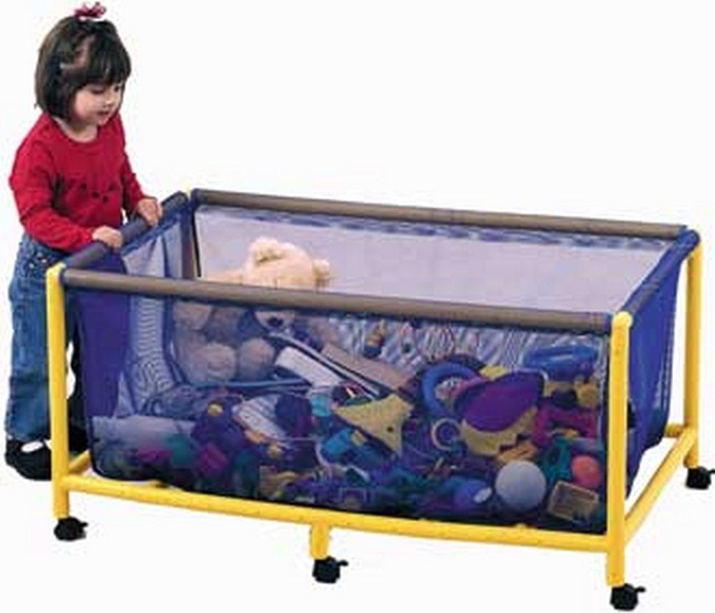 Children's Factory Mobile Equipment Toy Box - Rectangle CF905-063