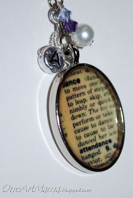 Dictionary page pendants one artsy mama jewelry pinterest dictionary page pendants one artsy mama aloadofball Gallery