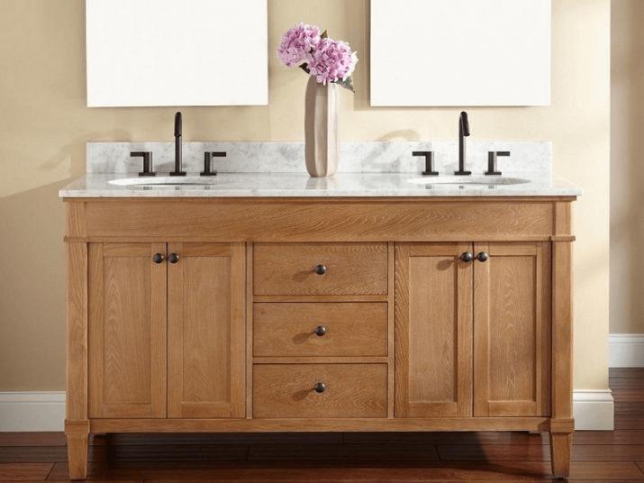 Nice Ideas Unfinished Bathroom Vanity Mirrors Bathroom Oak