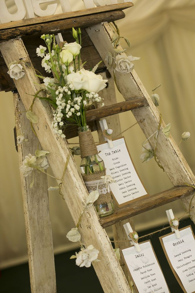 Rustic wedding step ladder table plan to hire in home furniture wedding supplies ebay junglespirit Image collections