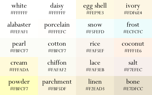 Color Names Now In Gradient Order Color Names Hex Color Palette Shades Of Orange Names