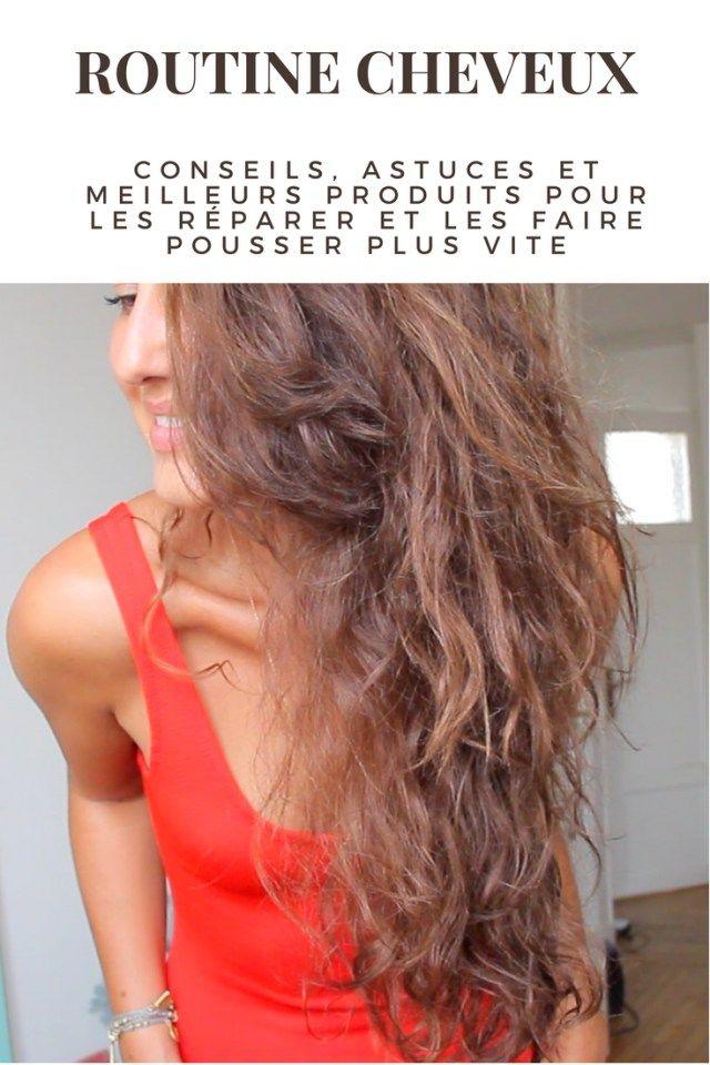 routine cheveux mes conseils pour en prendre soin et les faire pousser plus vite cheveux