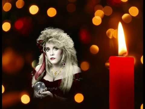 Silent Night Stevie Nicks Why This Is Only A Christmas Song I Have No Idea Should Be Everyday Peace My Christmas Music Videos Xmas Music Holiday Songs