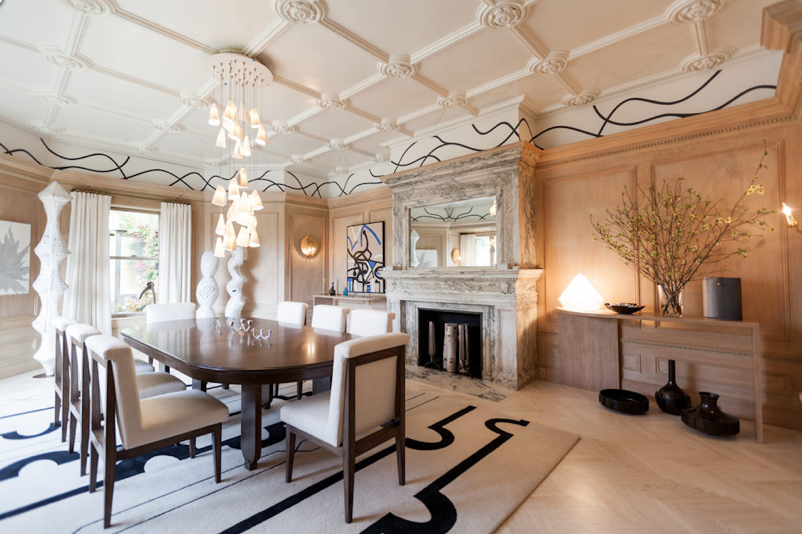 Pinfluffy Panda On ~~Posh Pads~~  Pinterest Impressive Mansion Dining Rooms Decorating Inspiration