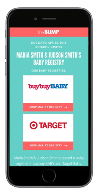Baby Registry at The Bump Find Baby Shower Registries