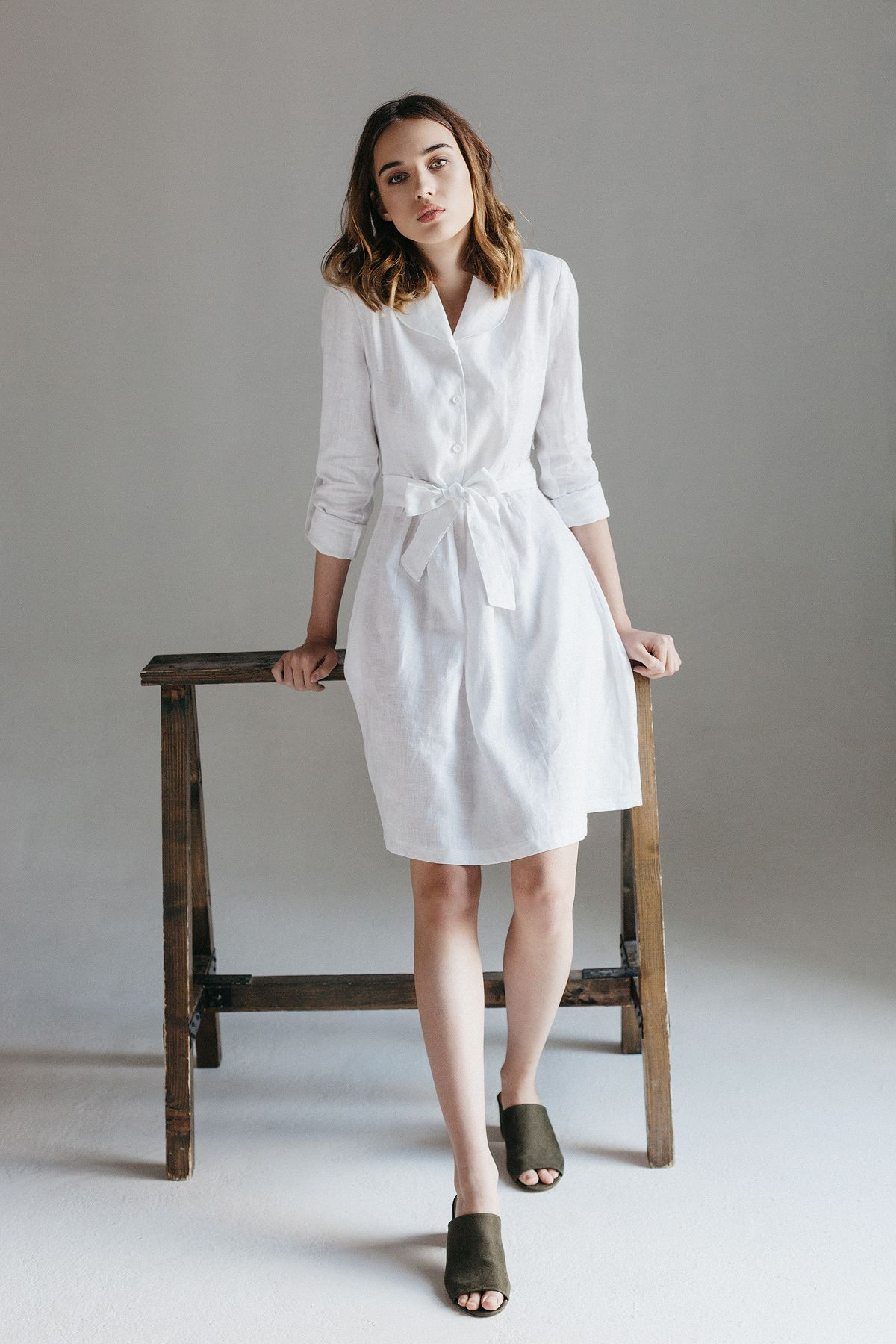Sport Chic Summer Looks Linen Dresses Sewing Patterns Crafts To Make: Linen Summer Dresses For Weddings At Websimilar.org