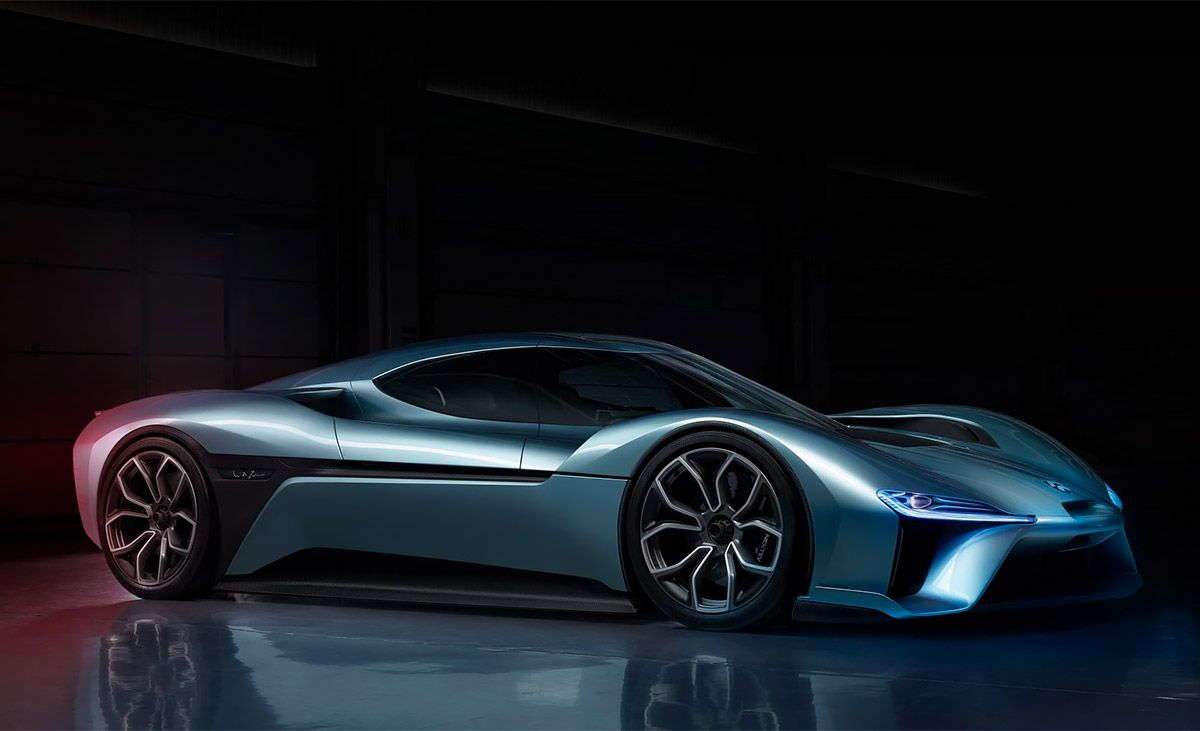 Developed By Chinese Startup Nextev The Nio Ep9 Recently Set A World Record Lap Time Of Seven Minutes And Five Seconds At The Super Cars Future Car Car Brands