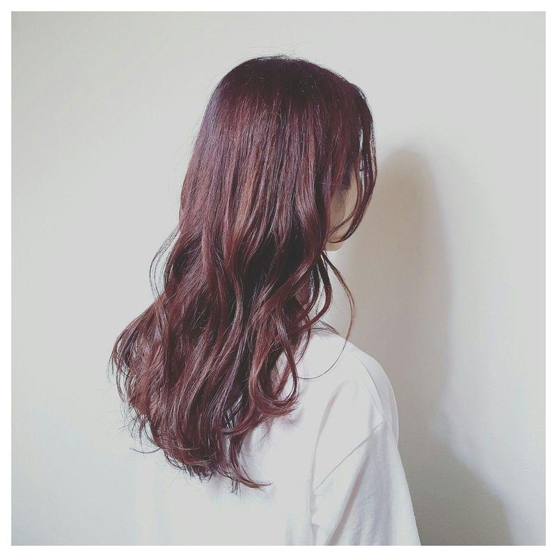 紫 がトレンド ガーリーな髪色で男女ウケをgetせよ バイオレット