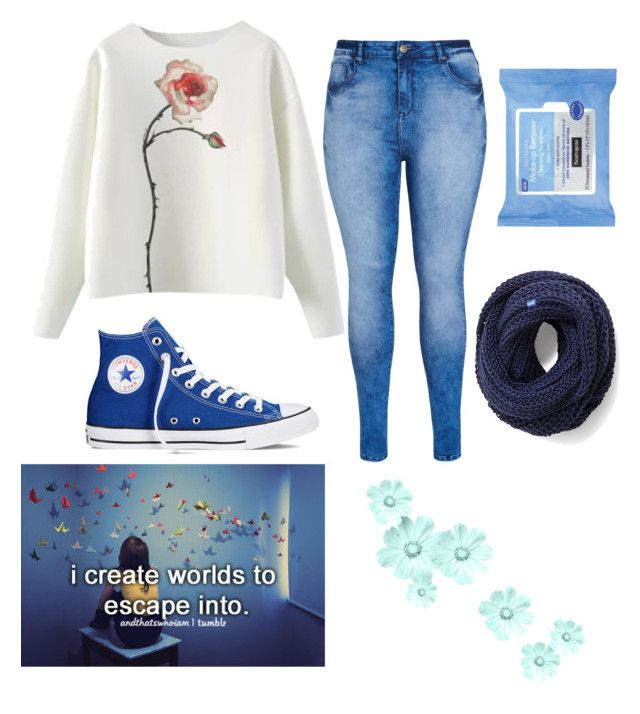 """Escape"" by maddysleepy ❤ liked on Polyvore featuring City Chic, Converse, Keds and Neutrogena"