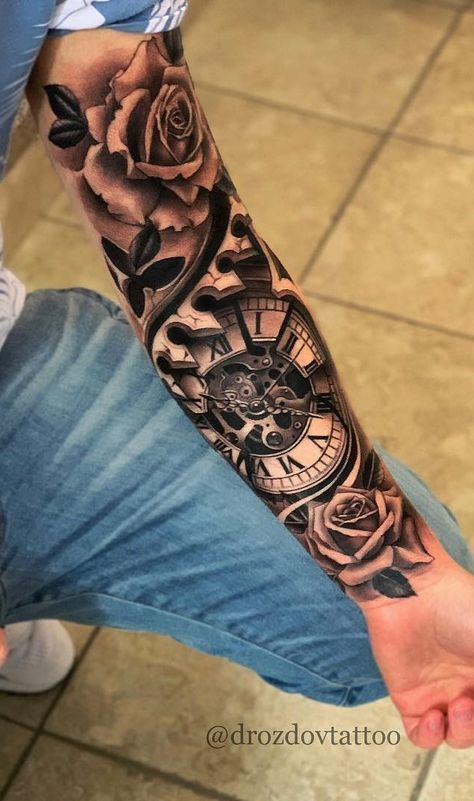 29 Trendy Tattoo For Men On Arm Ideas With Half Sleeves Ink Tattoossleeve In 2020 Tattoos For Guys Arm Tattoos For Guys Cool Forearm Tattoos