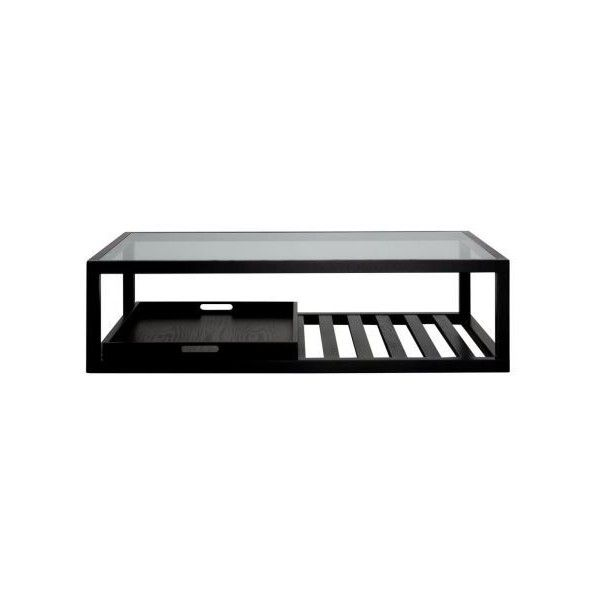 Ambassador Coffee Table With Tray In Black Freedom 715 Liked