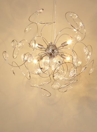Lila sputnik ceiling light bhs now 100 light up light up lila sputnik ceiling light bhs now 100 aloadofball Images