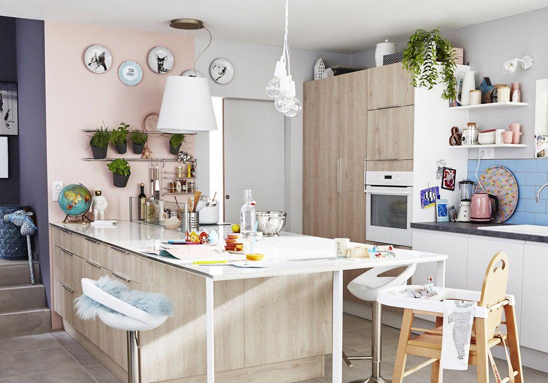 Nos Idees Decoration Pour La Cuisine Elle Decoration Meuble