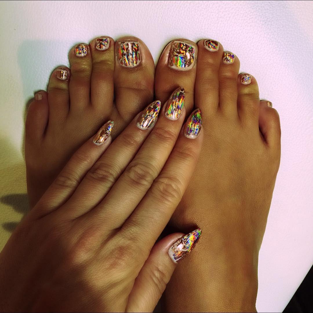 Thank u @teananails for my beautiful nails!!! #JapaneseNailArt