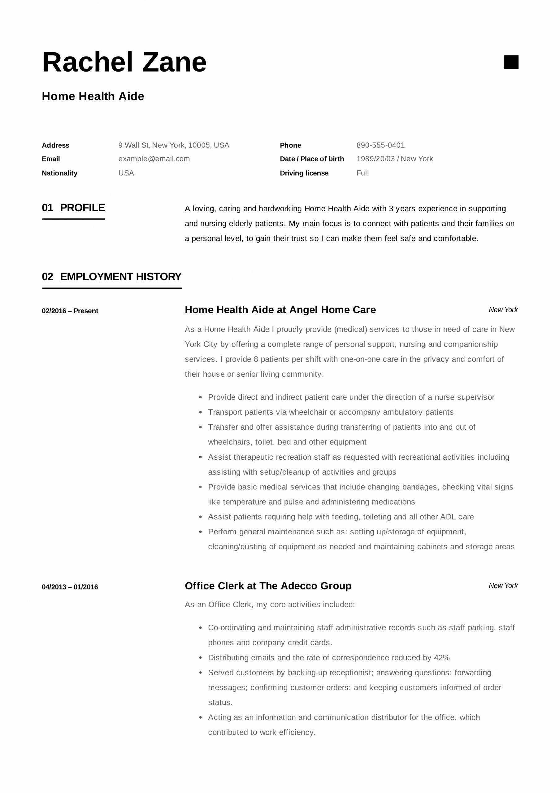 Home Health Aide Job Description Resume Elegant Home Health Aide Resume Sample Writing Guide Home Health Aide Graphic Design Resume Resume Examples