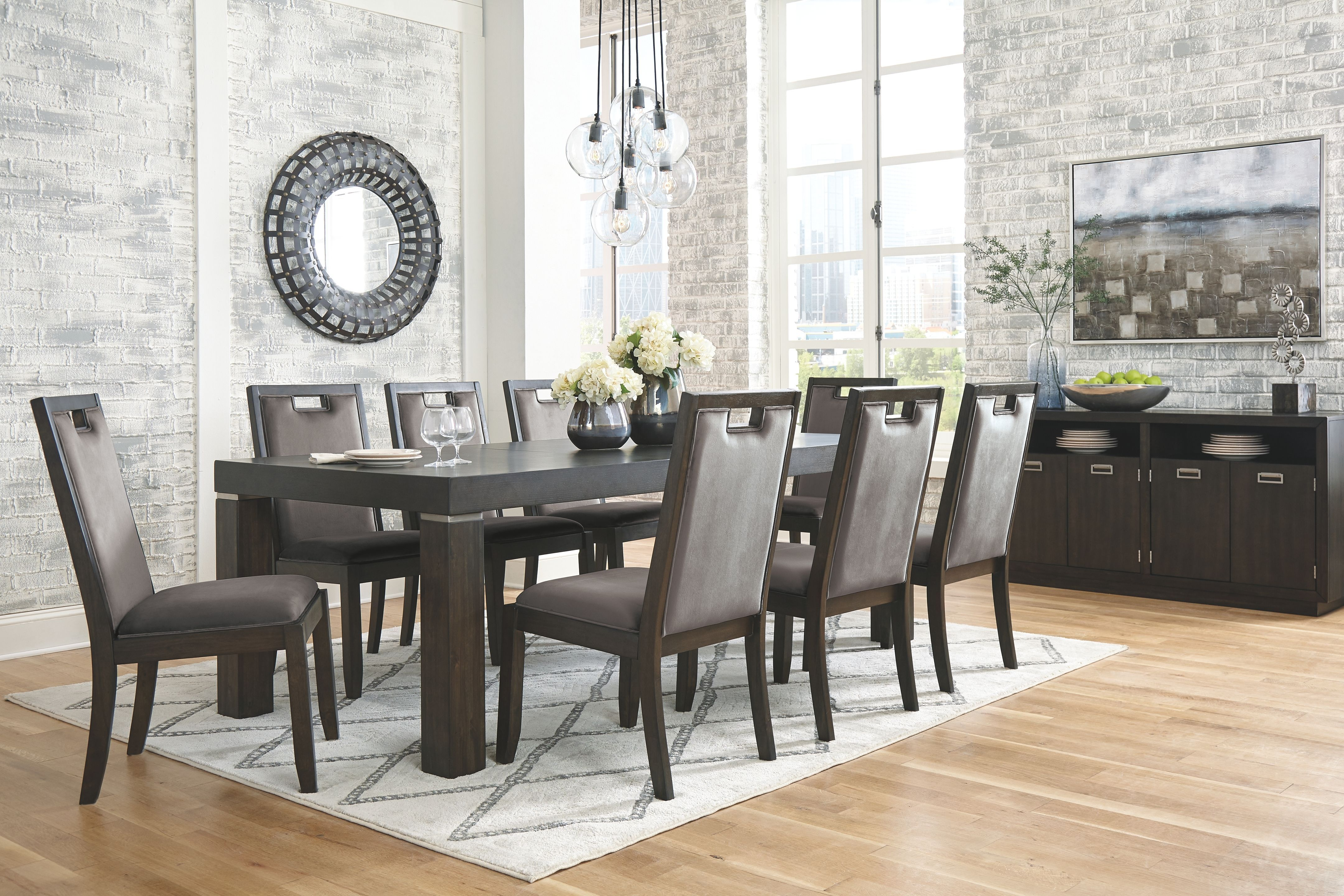 24++ Gray color dining table set Various Types