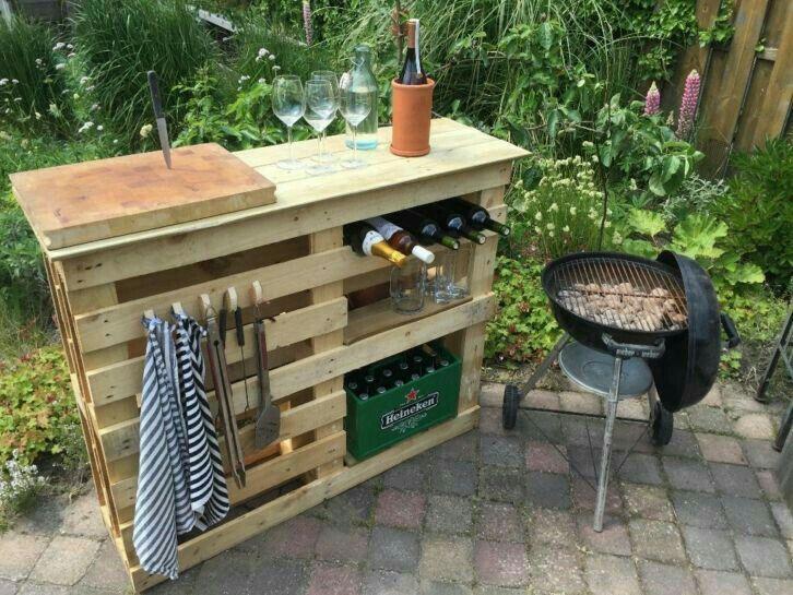 Luxury Building An Outdoor Bar