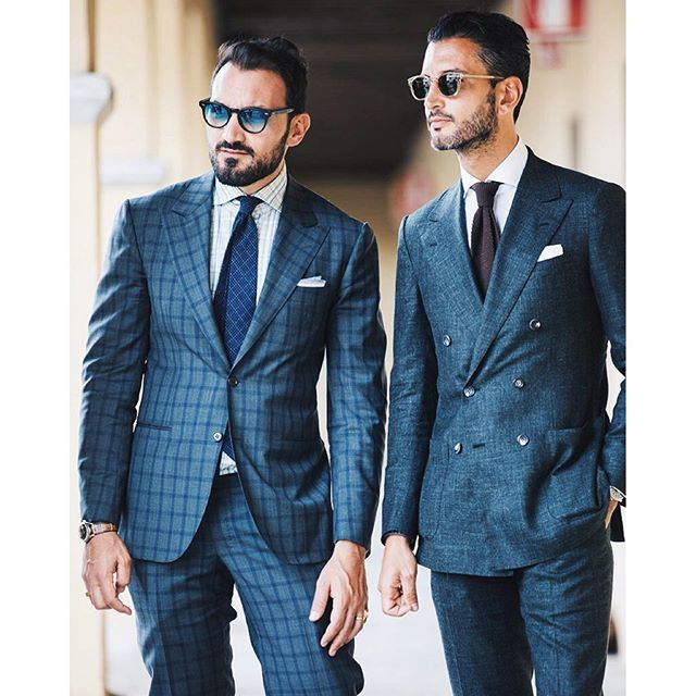 The gents of Pitti #italianstyle...