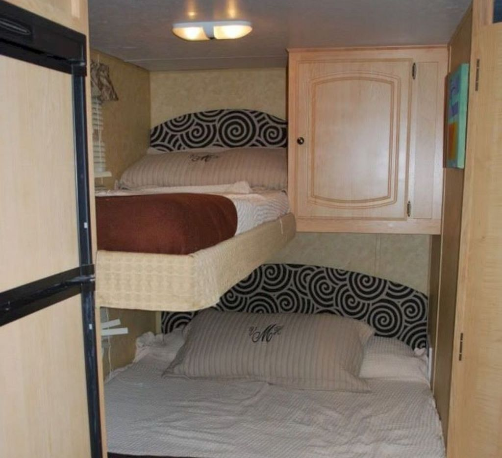 11 Classic Ways To Organize Your Rvs Bed Space Ideas