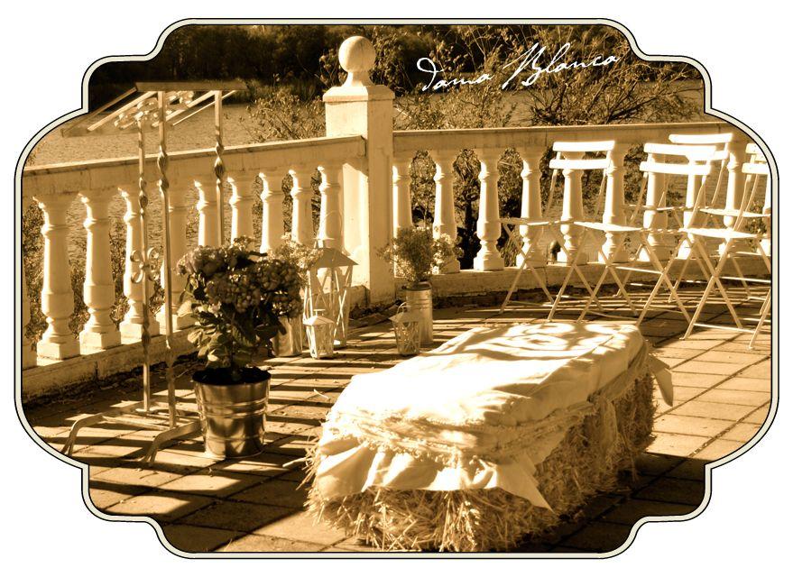 Decoración de ceremonia civil.  Made by: Dama Blanca Wedding Planner and Design