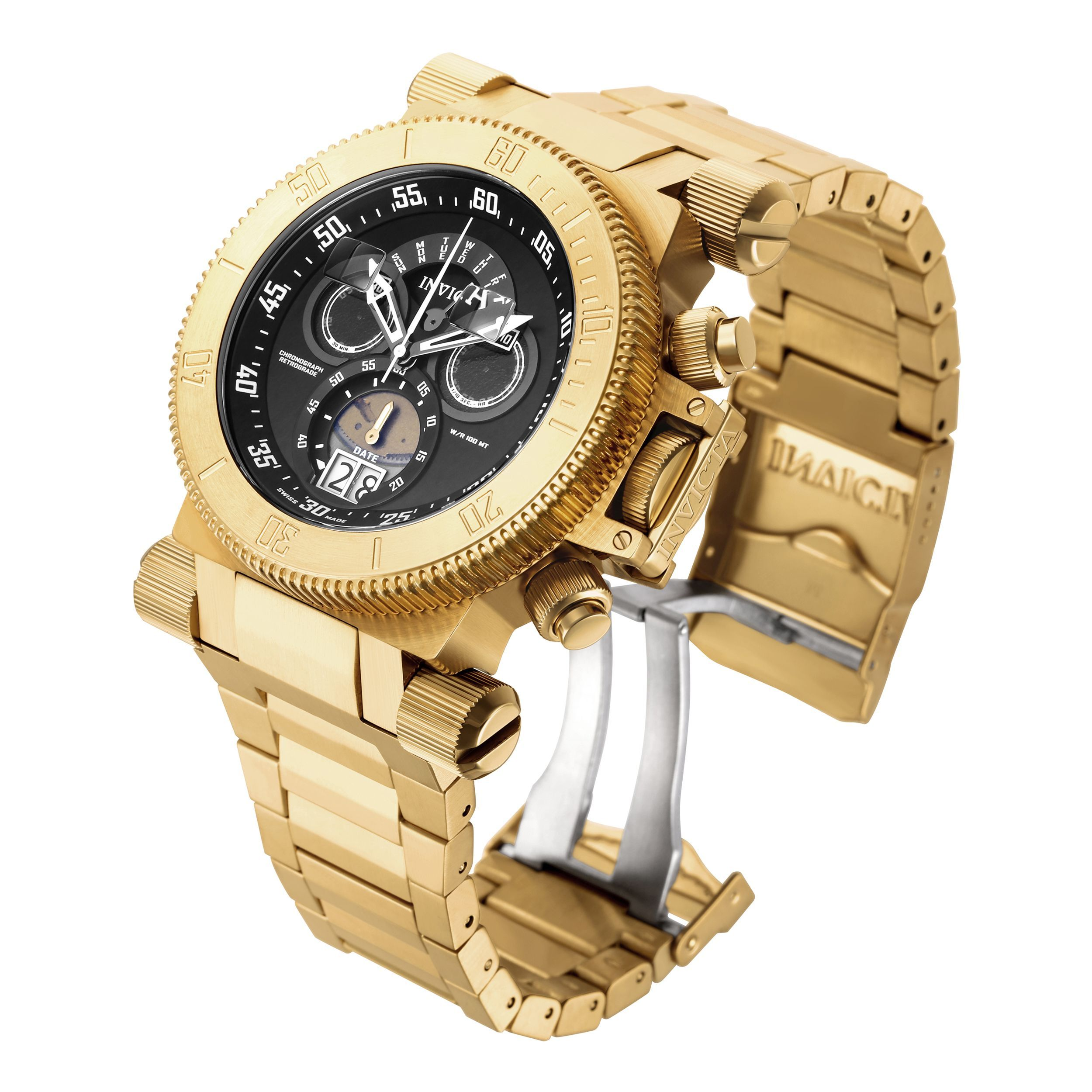 quartz watches watch gold products roman yellow collections leather co golden tiffany white strap dial