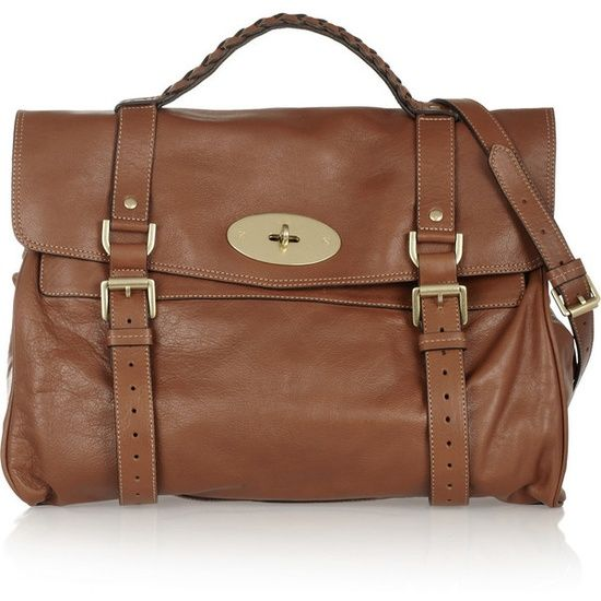 Mulberry The Oversized Alexa leather satchel