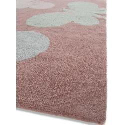 Photo of benuta Kids Waschbarer Kinderteppich Bambini Butterflies Rosa 120×180 cm – Waschbarer Teppich für Ki