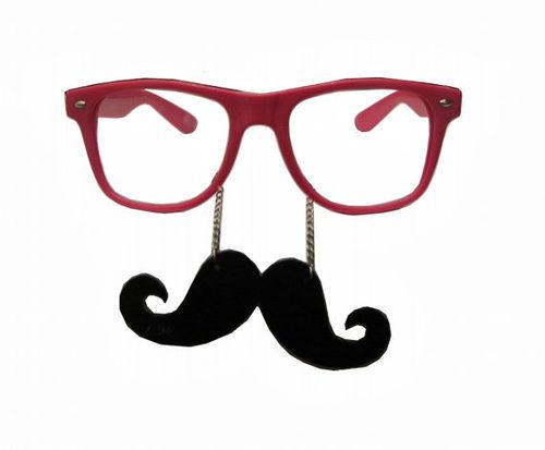 8790b63ae42 Nerd Glasses With Mustache