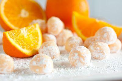 Orange creamsicle truffles - sounds yum