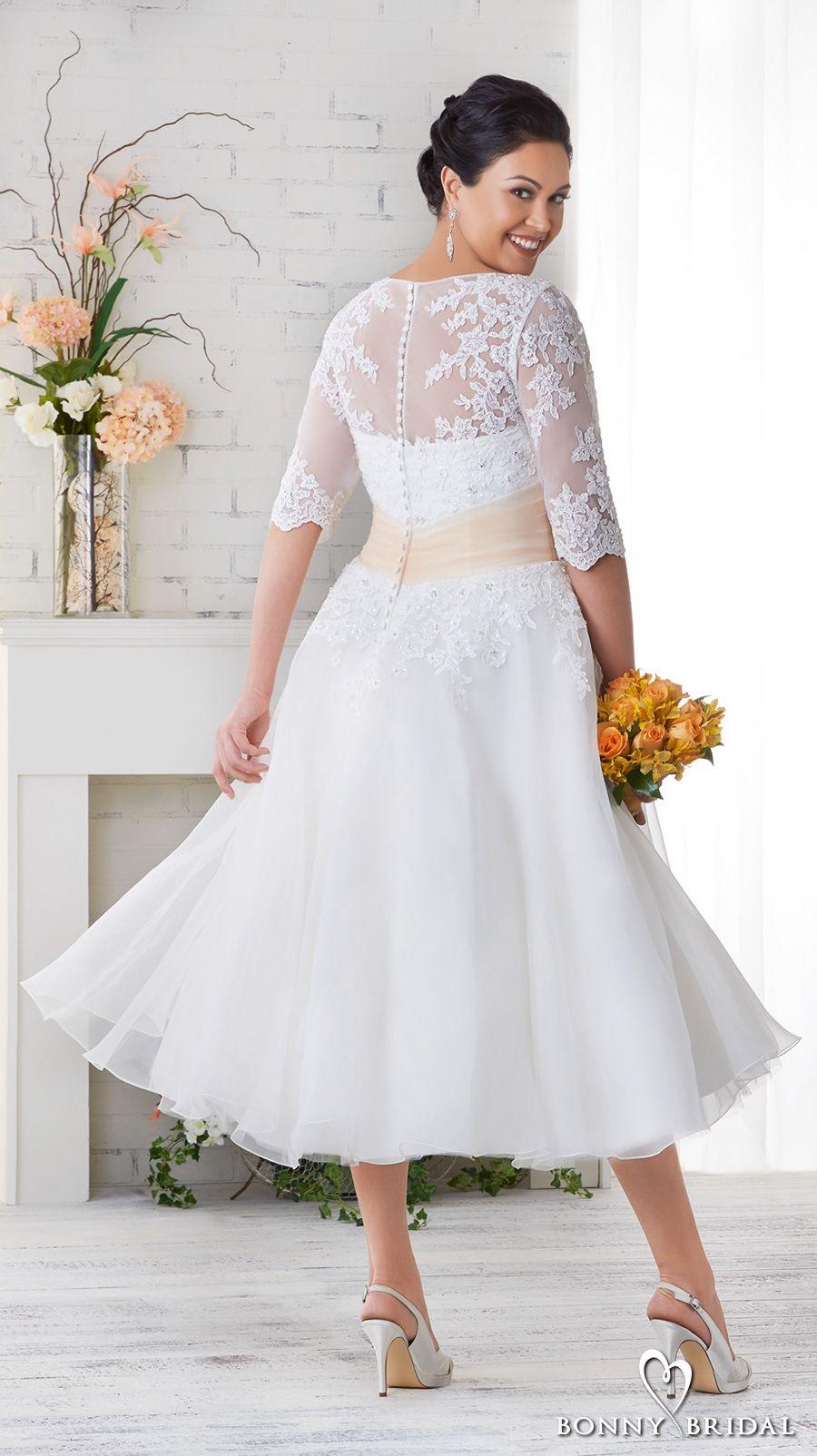 Bonny Bridal Wedding Dresses Unforgettable Styles For Every Bride Wedding Inspirasi Short Wedding Dress Plus Size Wedding Gowns Wedding Dress Organza [ 1604 x 900 Pixel ]