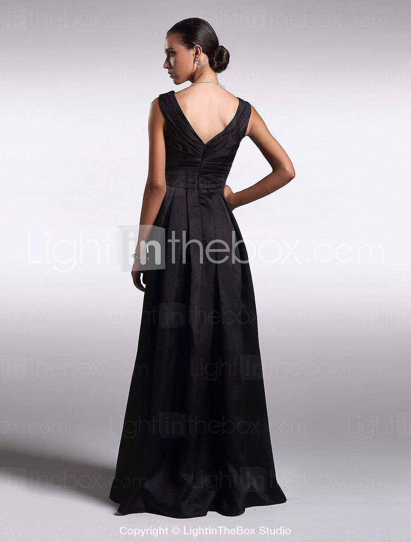 Orchestra Black Floor Length Dress