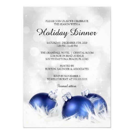 Holiday dinner invitation christmas dinner party card christmas holiday dinner invitation christmas dinner party card stopboris Gallery