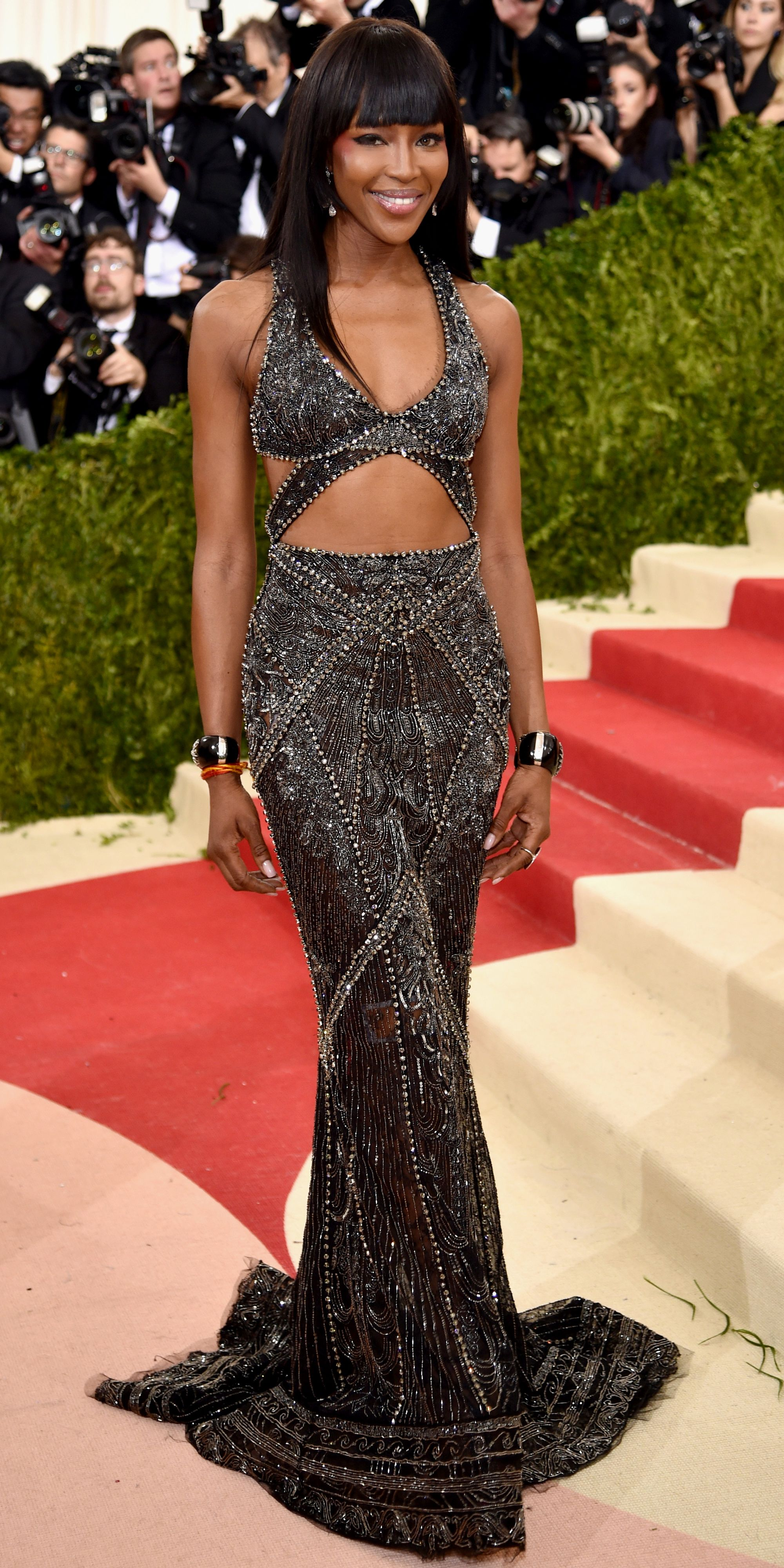 a84f1202f9 See All the Best Looks from the 2016 Met Gala Red Carpet - Naomi Campbell -  from InStyle.com