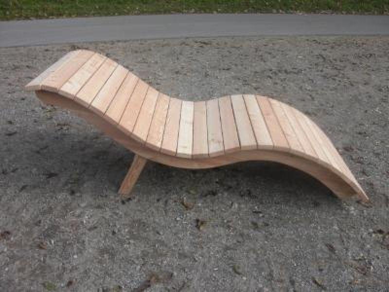 Bildergebnis Fur Holzliege Geschwungen Selber Bauen Relax Garden