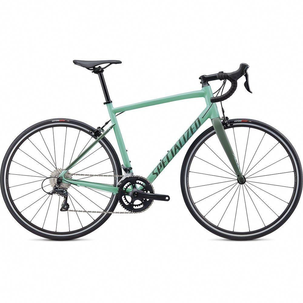 2020 Specialized Allez Sport Endurance Road Bike In Green