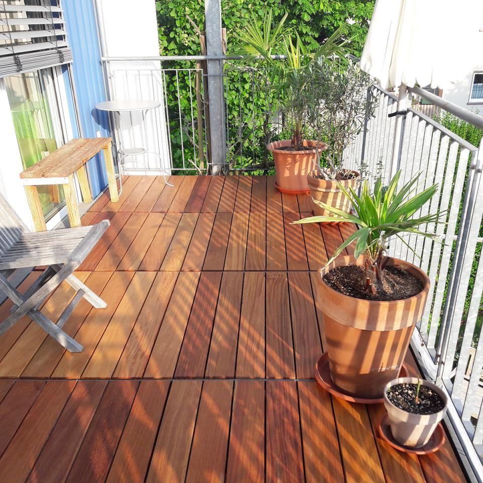 Cumaru Elemente Fur Terrasse Und Balkon Von Betterwood Bild 5 Terrassendielen Wpc Holz Holzfliesen Terrasse