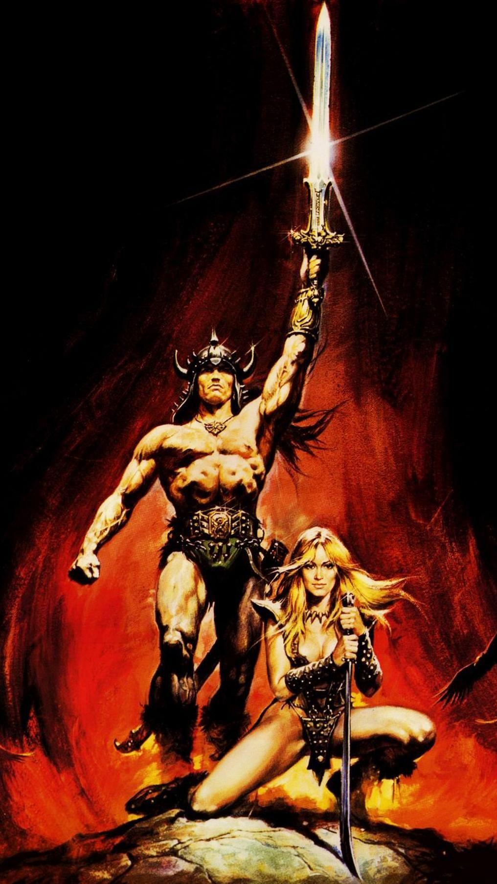 Conan The Barbarian 1982 Phone Wallpaper Moviemania Conan The Barbarian 1982 Barbarian Movie Conan The Barbarian