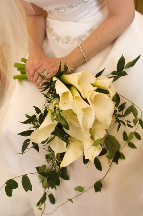 Modern Calla Lilies Wedding Bouquets Lily Bouquet Wedding Calla