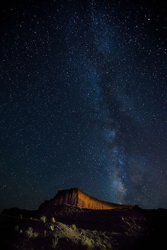 Milky Way Over The Utah Desert Night Skies By Thorpelandphoto Milky Way Milky Way Pictures Galaxy Photos