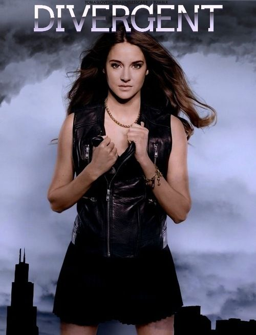 shailene woodley divergent movie official poster