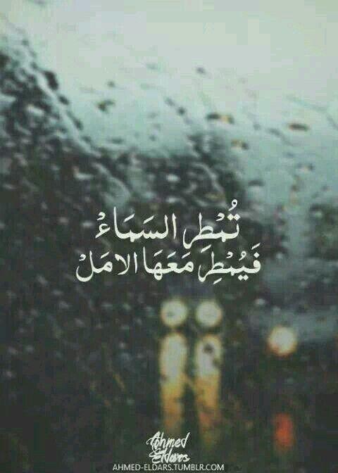 تمطر السماء فيمطر معها الأمل لا سعادة في الشتاء سوى إنهمار المطر Rain Quotes Love Quotes Wallpaper One Word Quotes