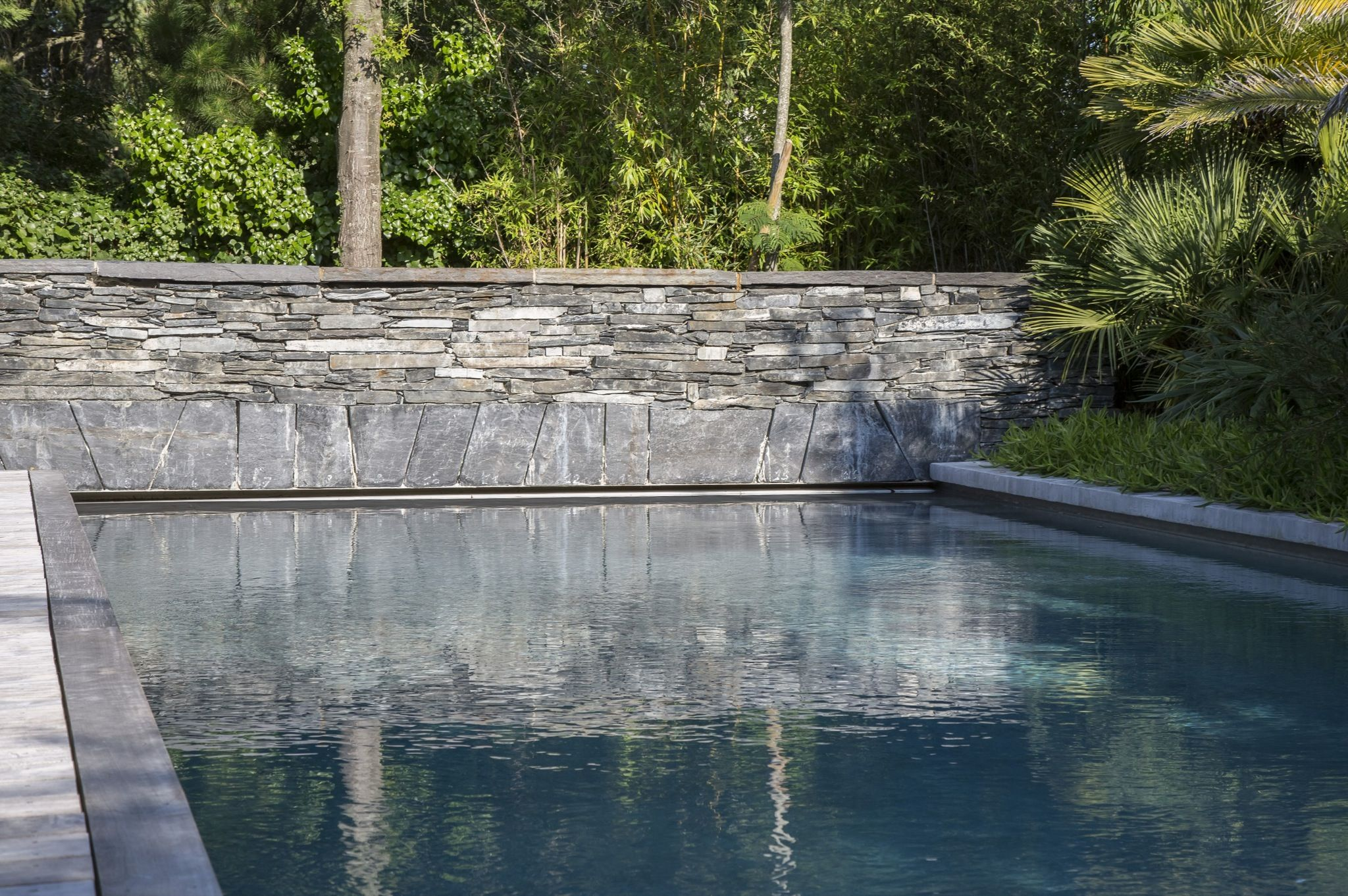 Le couloir de nage par l esprit piscine 22 20 x 3 m Revªtement