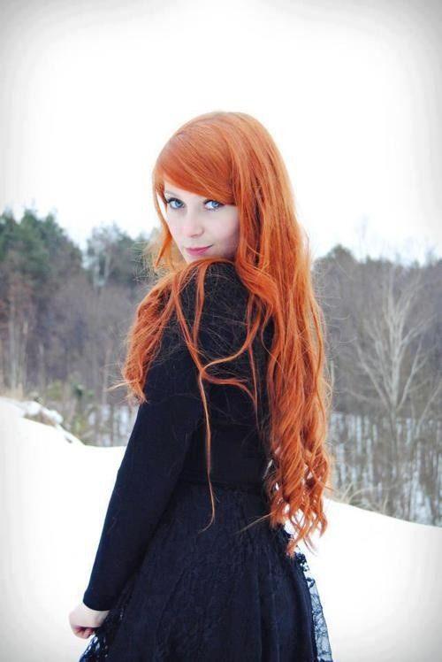 tumblr girl with orange hair wwwpixsharkcom images