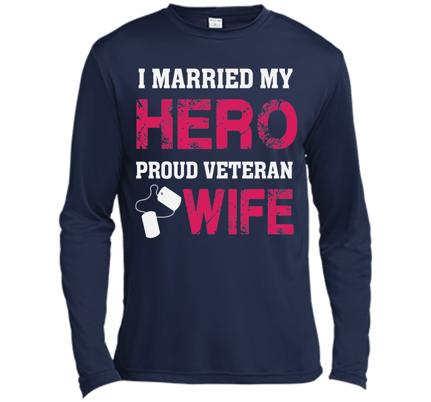 I married my hero proud veteran wife t shirt tshirt products