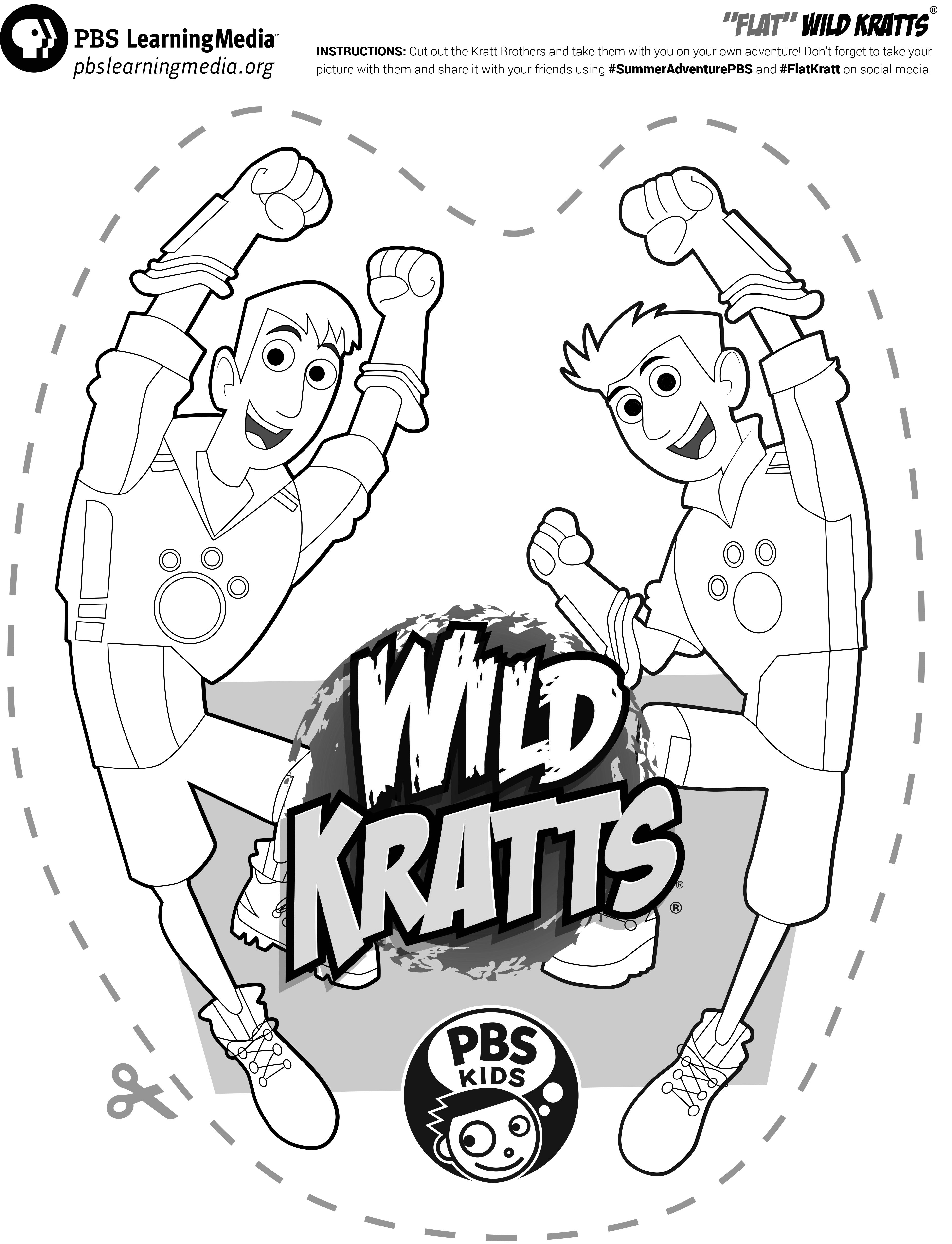 Take The Wild Kratts With You Wherever You Go With The