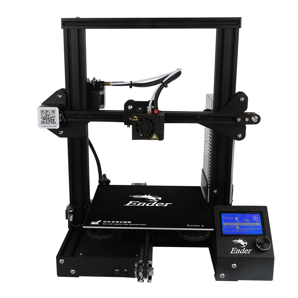 Super Creality 3D Ender3 3D Drucker DIY Kit Niedrigsten